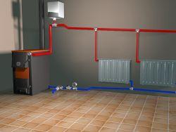 Система котельного отопления