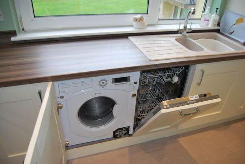 Посудомоечная машинка под столешницей