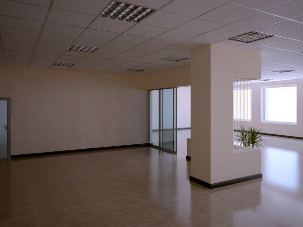 Ремонт стен, пола и потолка в офисе