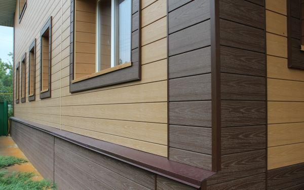 Фасад домов из декоративной штукатурки