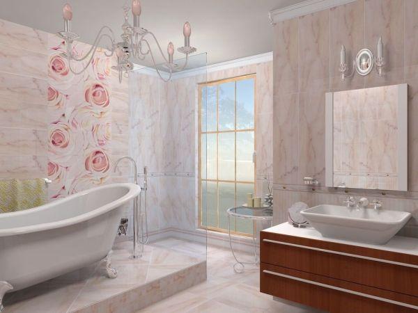 Отделка пластиковыми панелями стен в ванной