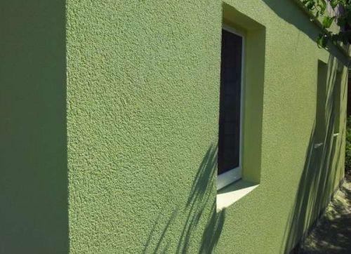 Штукатурка фасада короедом